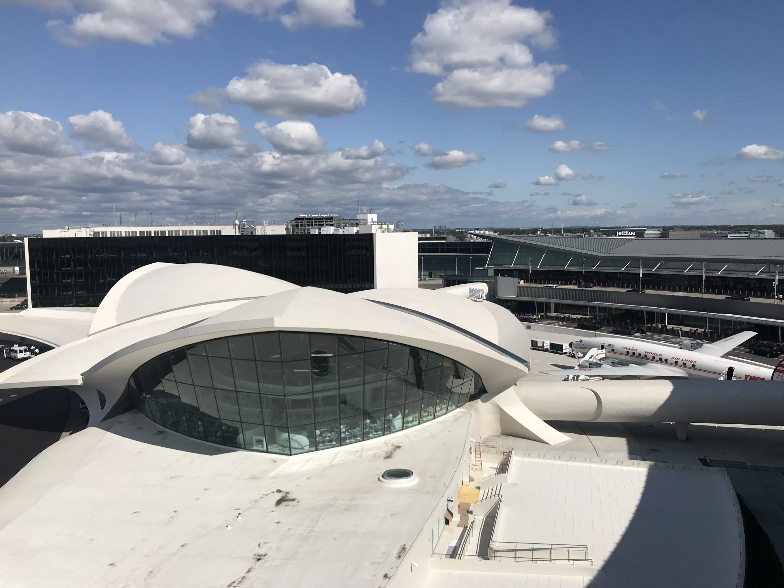 JFK Aiport TWA Hotel Above View