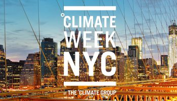 Climate Week NYC 2019 Logo